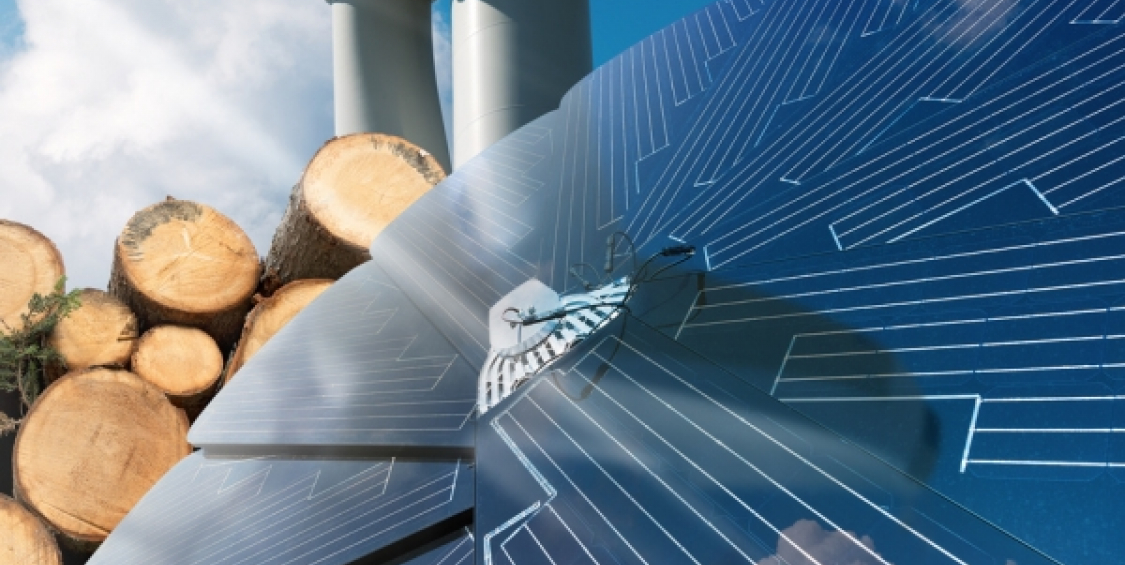 Integrate renewable energies in the company heat generation