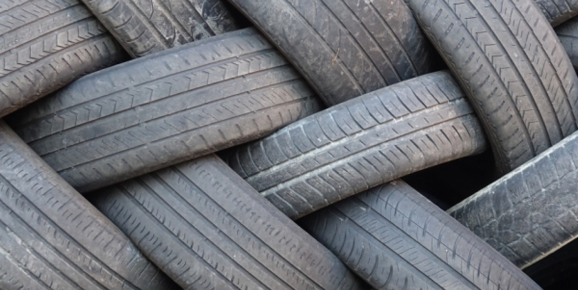 Recycled and repurposed rubber materials save money