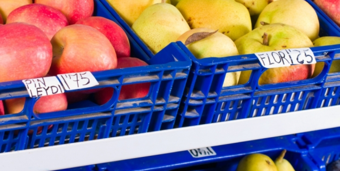 Utilising food waste from grocery retail