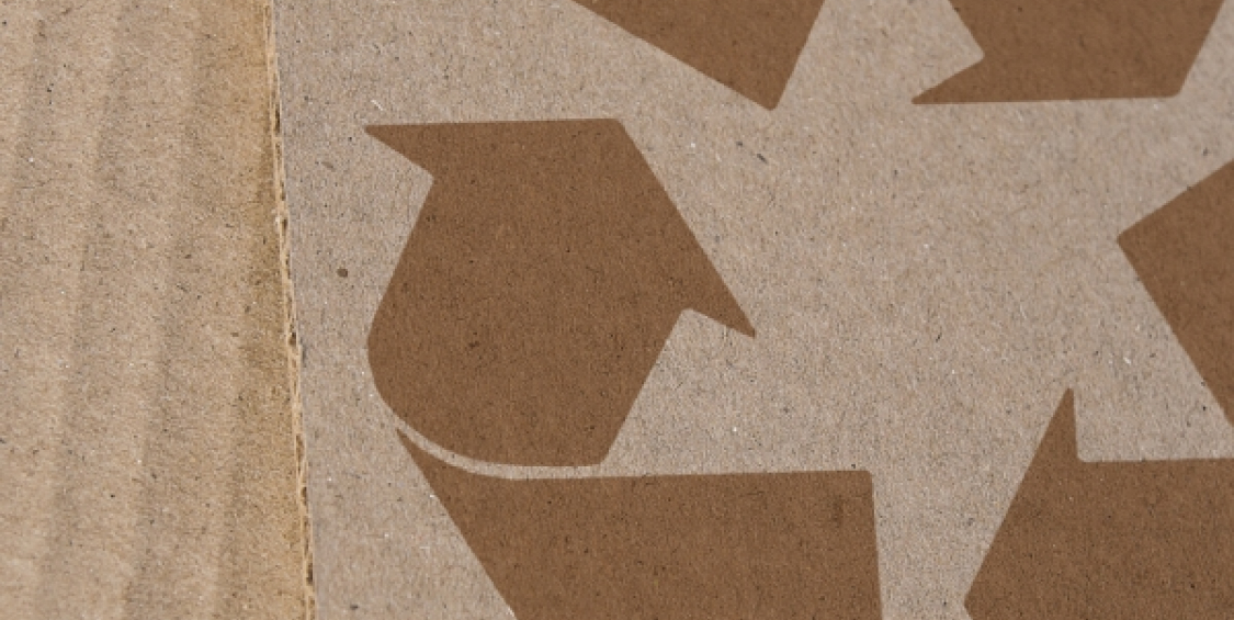 Production of recycled paper products