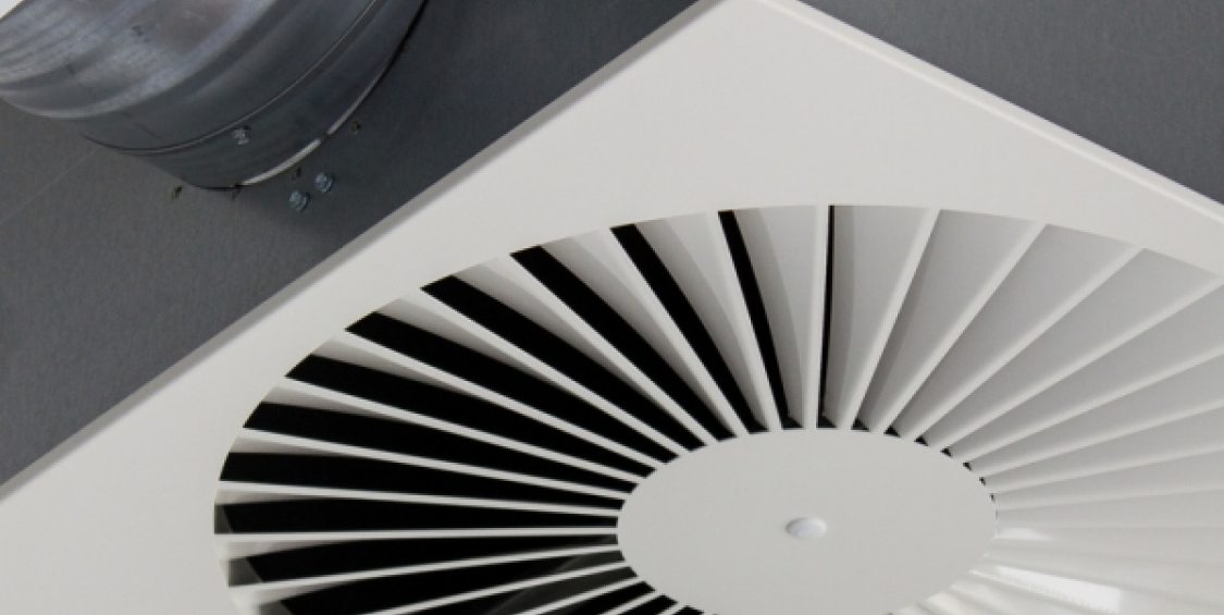 Implementation of forced ventilation system with waste heat recovery