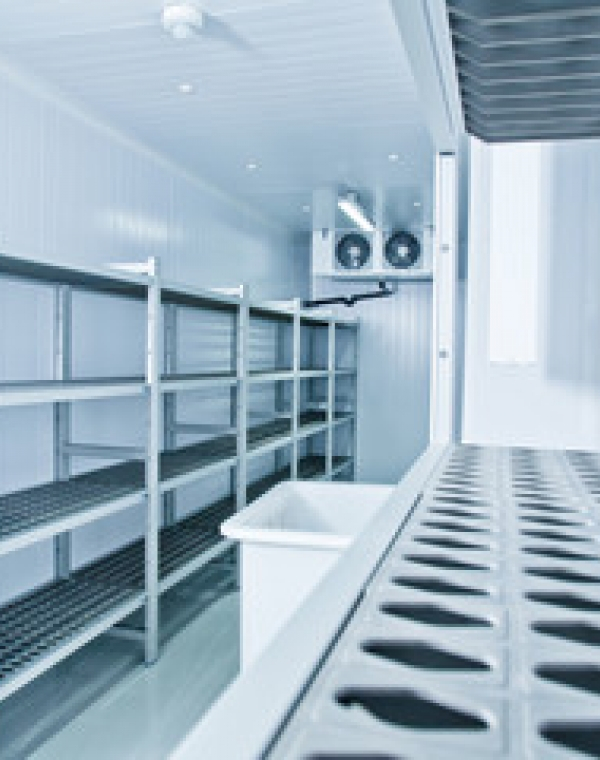 Heat recovery potential in small food factory refrigeration