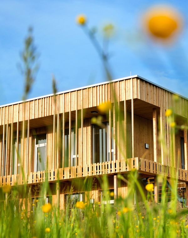 Ecocert in France creates its own energy positive building